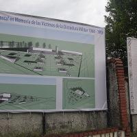 Se trata de la Plaza Monumental en Honor a las Víctimas de la Dictadura Militar